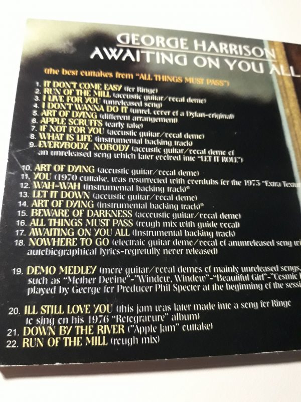 Awaiting on you all back cover