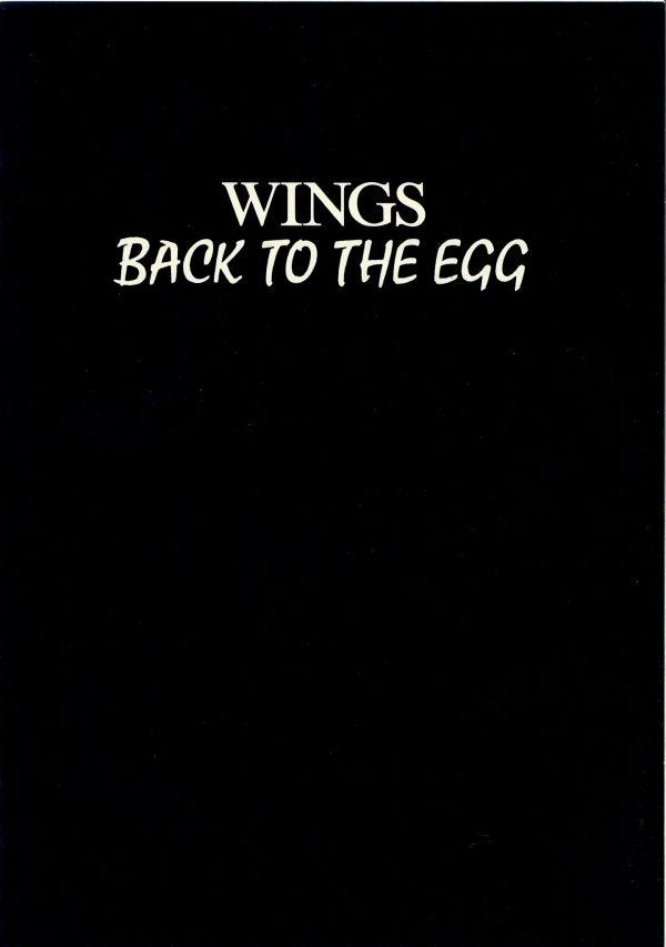 Wings Back to the egg