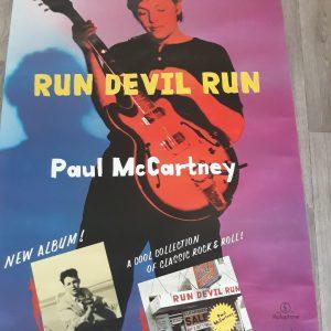 PmC Run Devil Run promo poster
