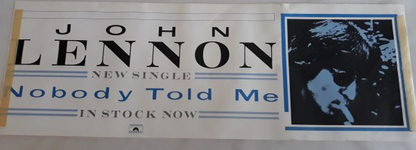 Nobody Told Me Promotional Banner