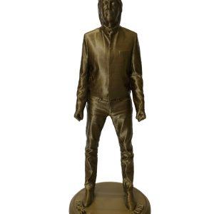 Paul McCartney bronze figurine