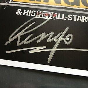 Ringo Starr signed booklet of live DVD